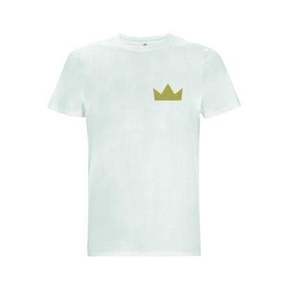 t-shirt blanc homme Orpailleur de Loire